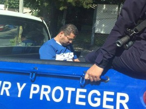 En esta patrulla fue trasalado Miguel Briceño a la posta de la Kennedy