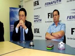 Alfredo Hawit y Rafael Callejas, responsables de Fenafuth en la ultima década