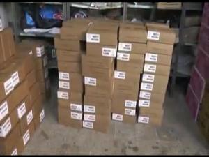El lote de medicinas están en las bodegas de FUNDAMAR a la espera de ser entregadas.