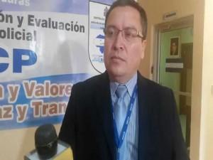 Oscar Vásquez titular de la DIECP.