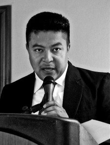 Periodista hondureño y defensor de DD.HH.