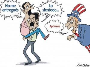 Caricatura de Luis Chavez