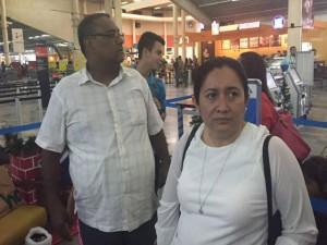 Cesar Ham abandona el país junto a su esposa e hijos