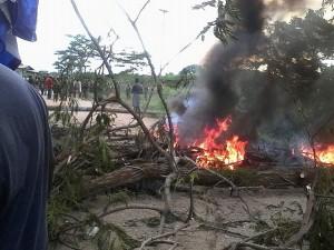 Los pobladores garifunas de los municipios de Iriona y Limón están enardecidos por la acciona militar