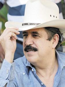 Manuel Zelaya Rosales, presidente de Honduras 2006-2209