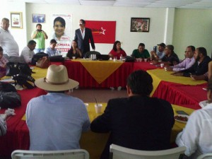 El Partido Libre esta en sesión permanente dijo su coodinador, Manuel Zelaya Rosales