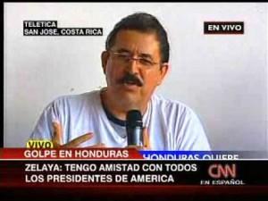 El golpe de Estado perpetrado contra Manuel Zelaya en 2009 fue apoyado por Estados Unidos.