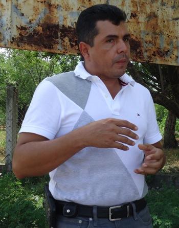 Alcalde Aramecina Rony Funez