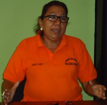 Gobernadora  de Nacaome Juana Lopez
