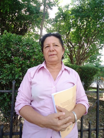 Herenia Hernandez Cruz  voluntaria