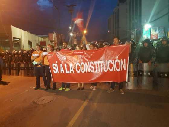 Marcha anti reelección